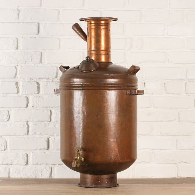 Copper Hot Water Maker or Samovar from India - Image 2 of 5