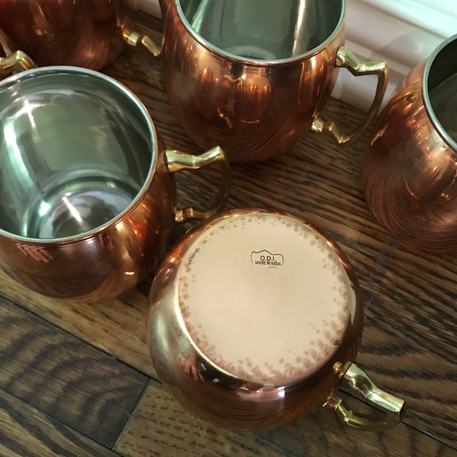 Moscow Mule Copper Mugs - Set of 6 - Image 6 of 6