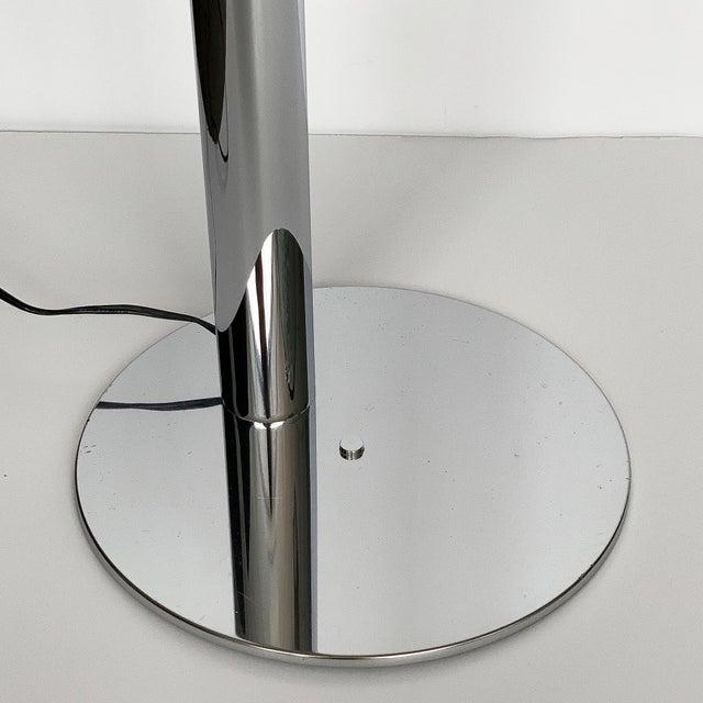 Robert Sonneman Polished Chrome Floor Reading Lamp For Sale - Image 9 of 13