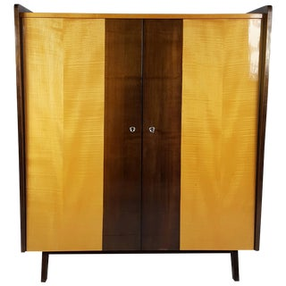 Modernist Art Moderne German Mobelhaus Berghann Gentleman's Chest For Sale
