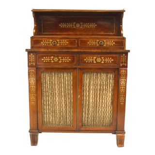 English Regency Small Sideboard Cabinet For Sale