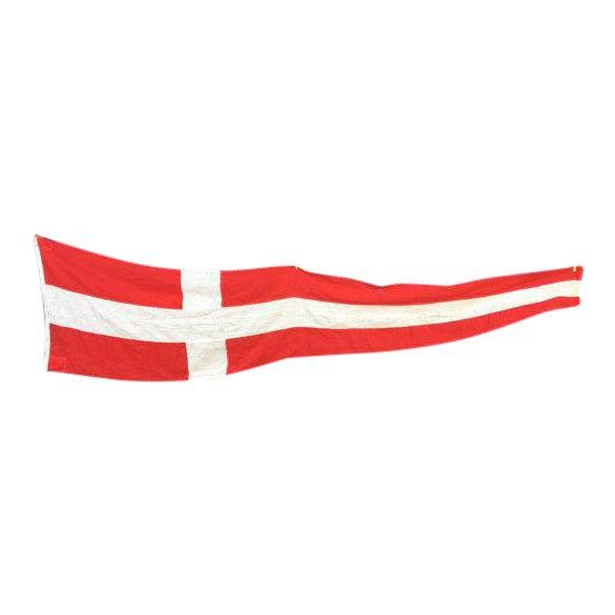 Danish Nautical Pennant Flag - Image 1 of 6