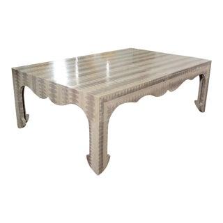 Custom Python Cocktail Table For Sale
