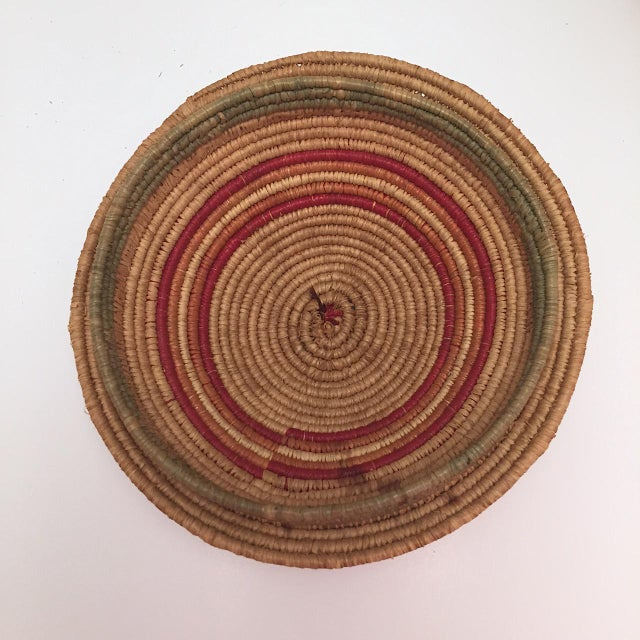 Northwest Coast Salish Lidded Coiled Basket For Sale In Boston - Image 6 of 13