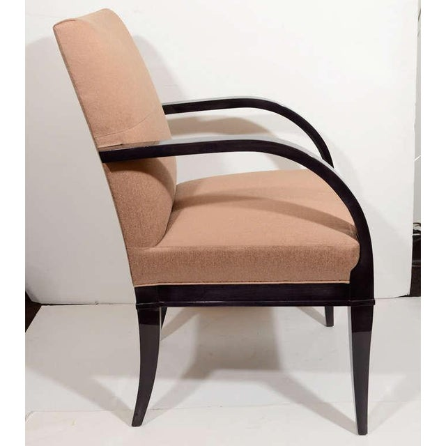 1950s Modernist Dining Chair with Bent Arm Design For Sale - Image 5 of 8