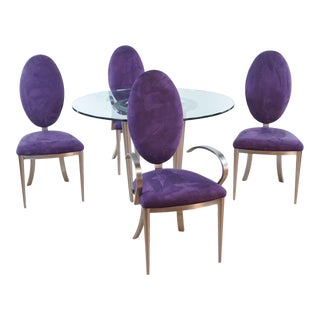 Mid-Century Dia Dining Set - 5 Pieces For Sale