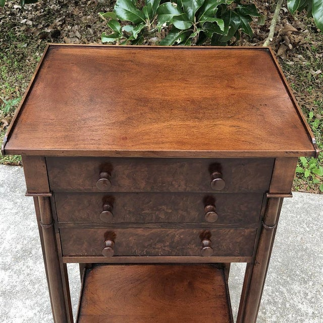 19th Century French Charles X Nightstand For Sale In Dallas - Image 6 of 12
