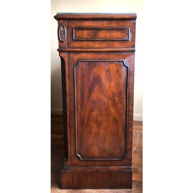 Lloyd Buxton Mahogany Executive File Cabinet For Sale - Image 4 of 7