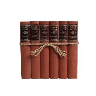 Vintage Book Gift Set: Victor Hugo, S/6 For Sale
