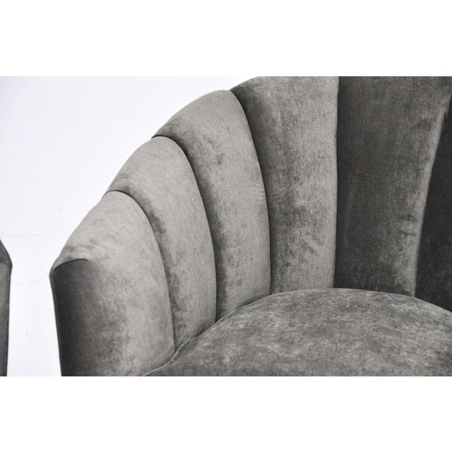 Mid-Century Swivel Chairs For Sale In Chicago - Image 6 of 8