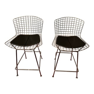 Modern Bertoia for Knoll Counter Stool For Sale