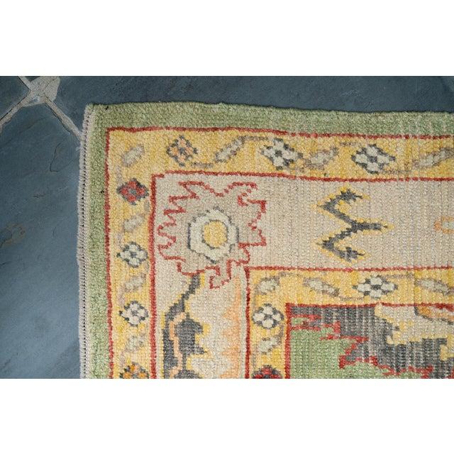 'Breton' Turkisk Oushak Rug For Sale - Image 4 of 10