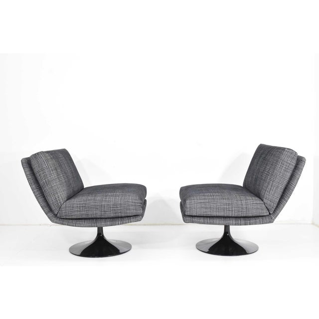 Contemporary Adrian Pearsall for Craft Associates Swivel Chairs For Sale - Image 3 of 10