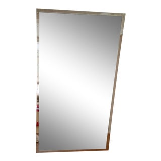 Restoration Hardware Metal Framed Mirror For Sale