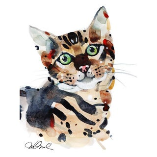 'Whiskers' Original Print For Sale