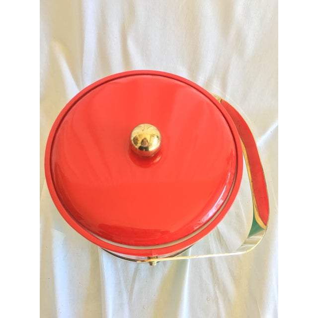 Georges Briard Holiday Ice Bucket For Sale - Image 5 of 9