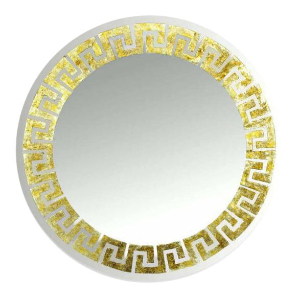 Holywood Regency Mirror by David Marshall For Sale