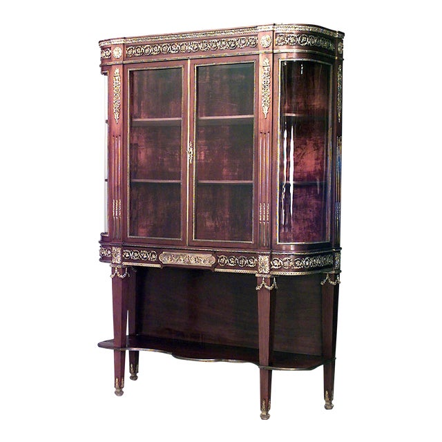 French Louis XVI Style Cabinet For Sale