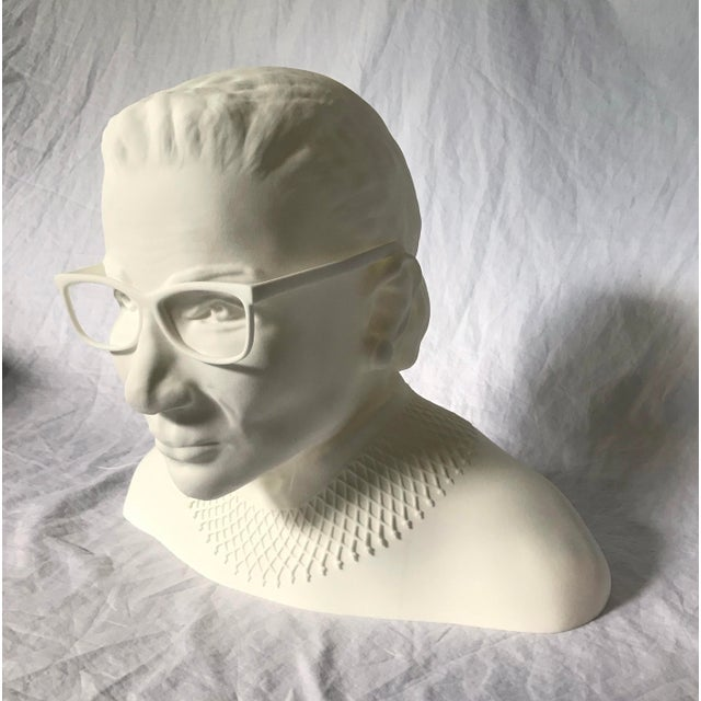 Plastic Ruth Bader Ginsberg Bust For Sale - Image 7 of 11