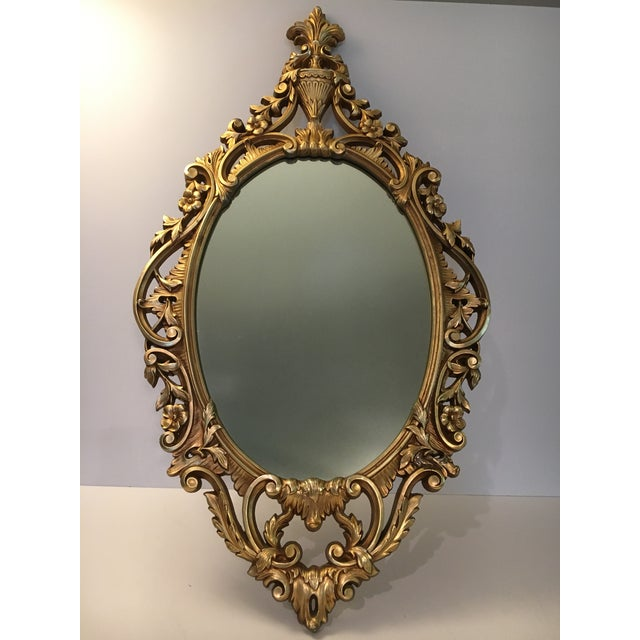 Burwood Products Gold Ornate Mirror - Image 2 of 8