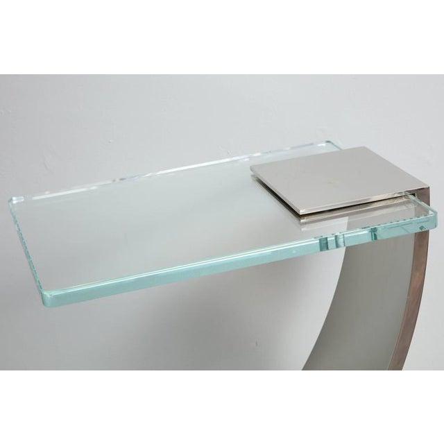Custom Z Side Table For Sale - Image 4 of 6