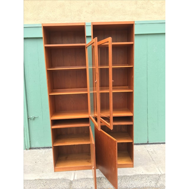 Danish Modern Bookshelves - A Pair - Image 6 of 11