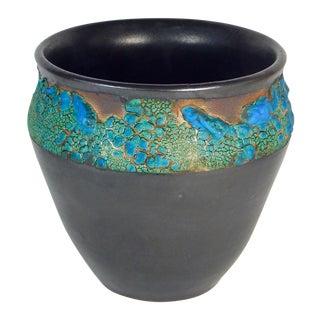 Auberginewear Ceramic Urn #11 by Andrew Wilder For Sale