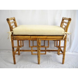 Chinoiserie Bamboo Bench Preview