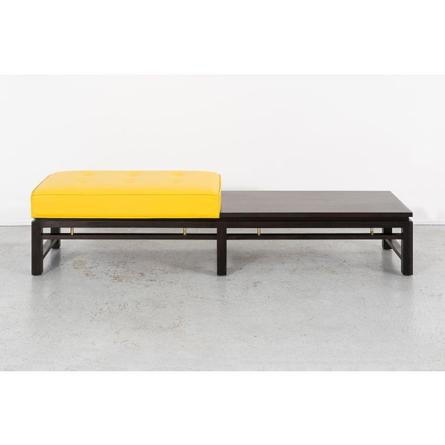 Mid-Century Modern MAHOGANY BENCH BY EDWARD WORMLEY FOR DUNBAR For Sale - Image 3 of 11