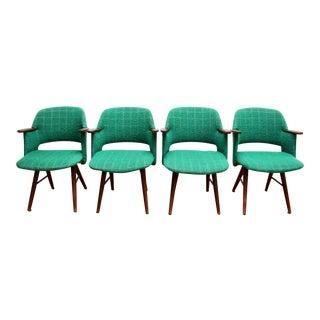 Mid-Century Dutch Armchairs - Set of 4