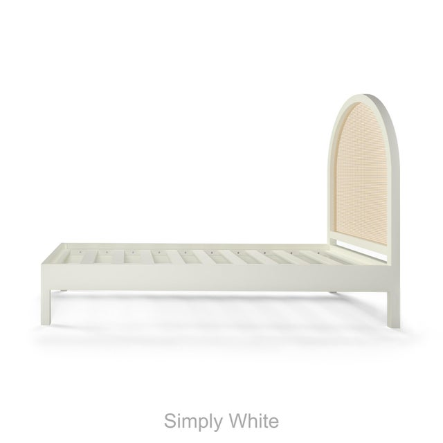 Contemporary Eva Bed - Twin - Summer Mist Blue For Sale - Image 3 of 4