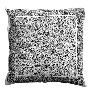 """""""Brambles"""" Chocolate Color Throw Pillow For Sale"""