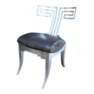 Vintage Mid Century John Vesey Aluminum Chair For Sale