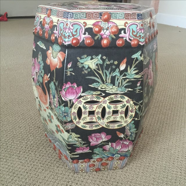 Chinoiserie Garden Stool - Image 8 of 9