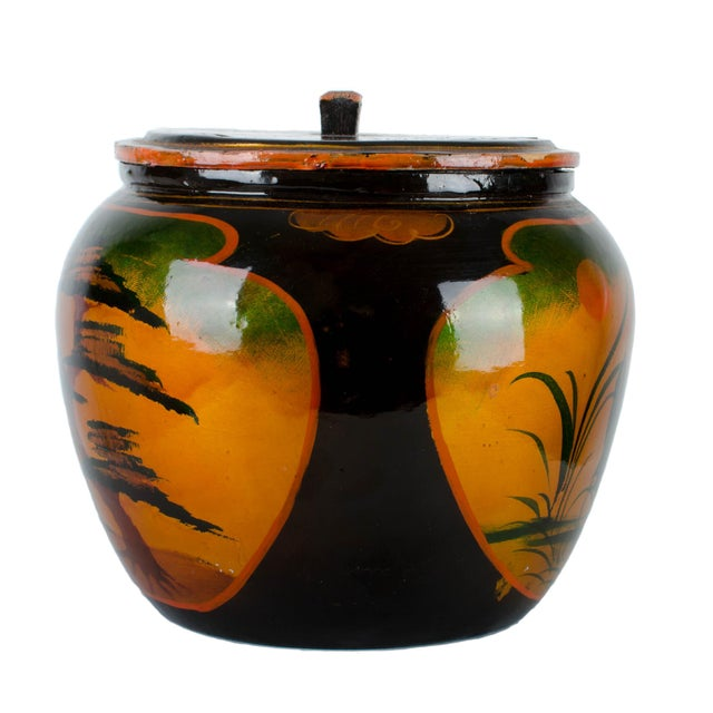 Japanese Lacquer Padded Teapot Caddy - Image 9 of 10