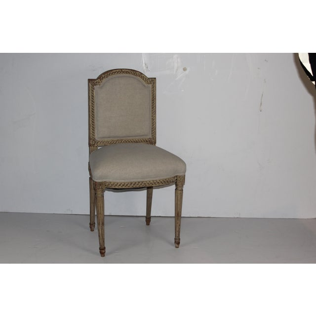 Louis XVI Style Accent Chair - Image 2 of 6