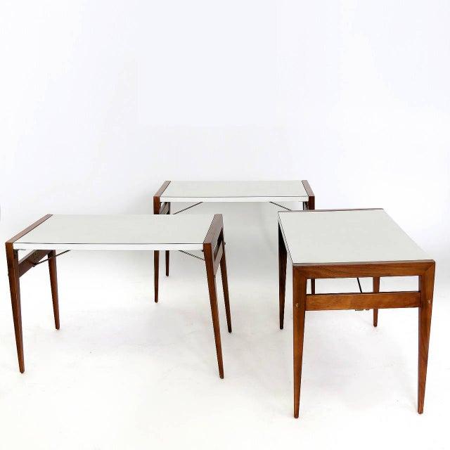 Brown Saltman Vintage John Keal for Brown Saltman Side Table For Sale - Image 4 of 6