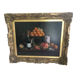 Realist Still Life by Francois Abel For Sale