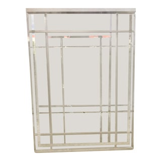 Vintage Lucite Waste Basket For Sale