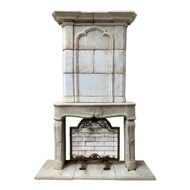Modern Dennis and Leen Fireplace Mantel For Sale