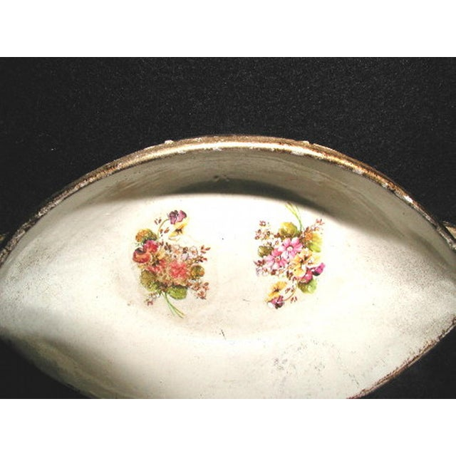 Mid 19th Century Austrian 19th Century Papier Mache Bowl For Sale - Image 5 of 5