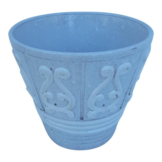 Italian Ceramic Planter Pot For Sale