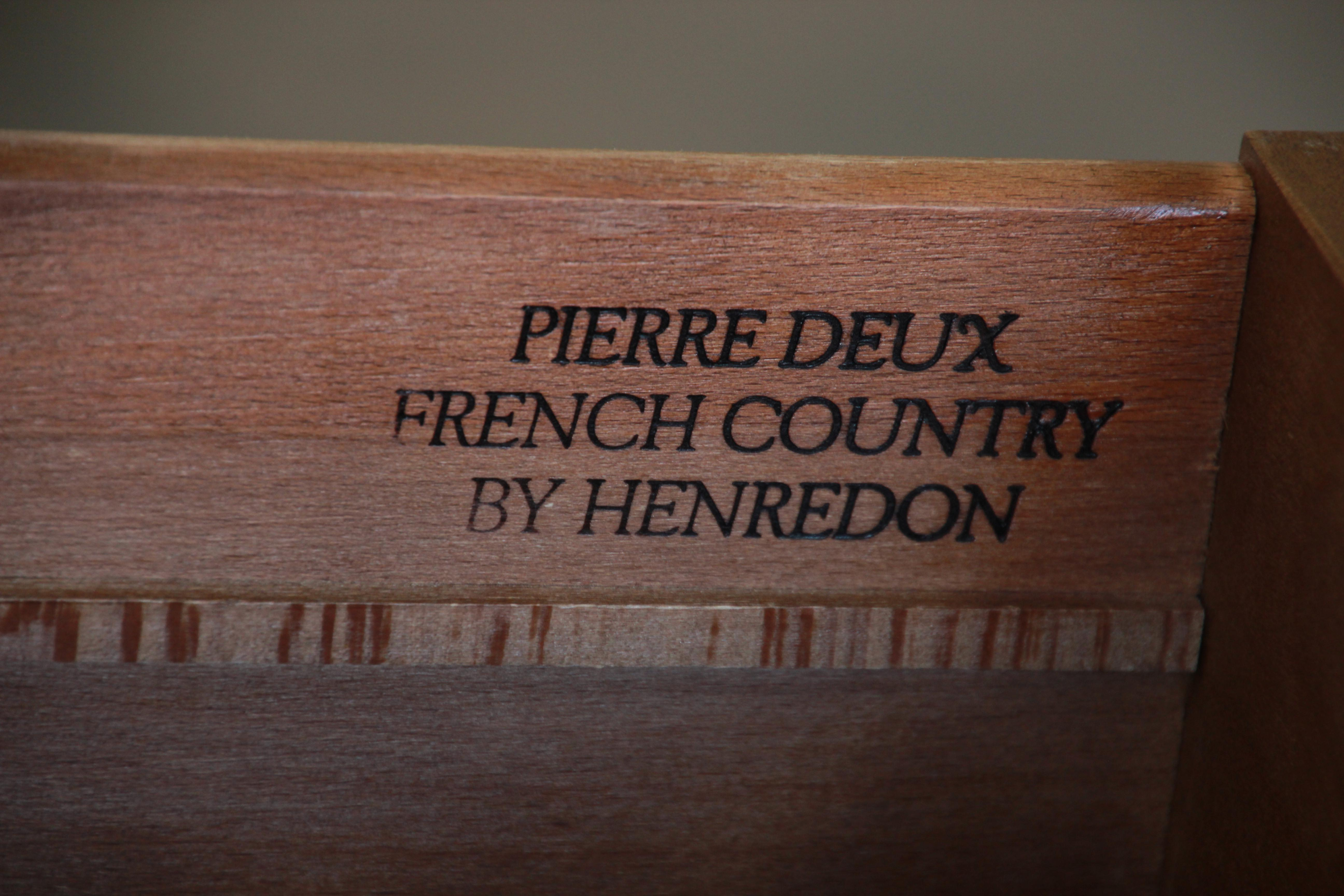 Pierre Deux French Country Double Dresser By Henredon   Image 9 Of 11