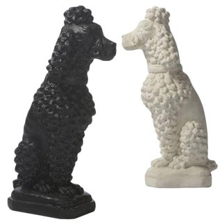 Inner Gardens Cast Stone Poodle For Sale