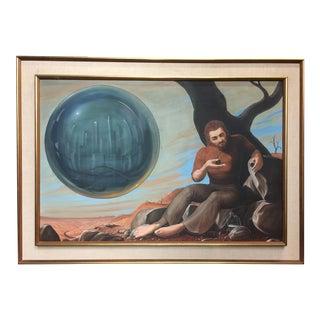"""Fragile"" Original Oil Painting by Frank Porpat For Sale"