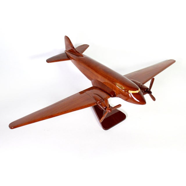 "Wood Mid-Century Solid Wood DC-3 ""Dakota"" Model For Sale - Image 7 of 7"