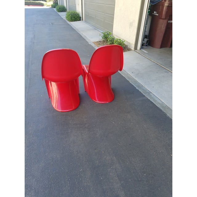 Mid-Century Modern Acrylic Chairs - A Pair - Image 3 of 5