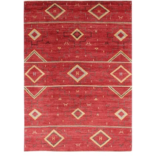 "Navajo Hand Knotted Rug-9'11"" X 14'2"" For Sale"