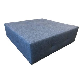 Large-Scale Flavor Custom Designed Tufted Ottoman For Sale