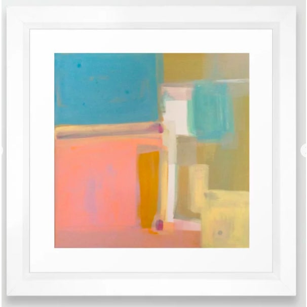 "Abstract 'Proximity' Art Print by Linnea Heide - 12""x12"" For Sale - Image 3 of 4"